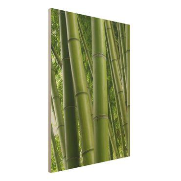 Quadro in legno - Bamboo Trees No.1 - Verticale 3:4