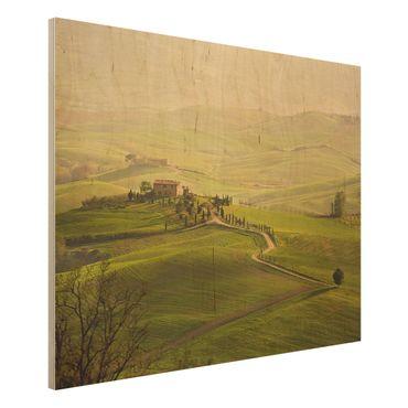 Quadro in legno - Chianti Tuscany - Orizzontale 4:3