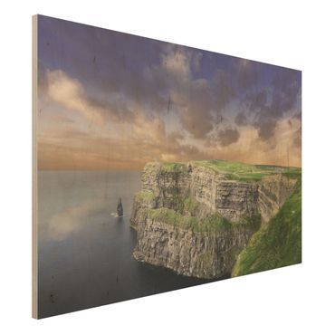 Quadro in legno - Cliffs of Moher - Orizzontale 3:2
