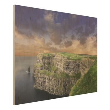 Quadro in legno - Cliffs of Moher - Orizzontale 4:3