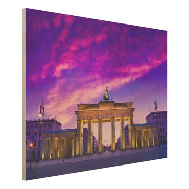 Quadro in legno - This is Berlin! - Orizzontale 4:3