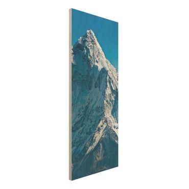 Quadro in legno - The Himalayas - Pannello