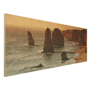 Quadro in legno - The Twelve Apostles Of Australia - Panoramico