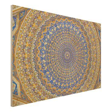 Quadro in legno - Dome of the Mosque - Orizzontale 3:2