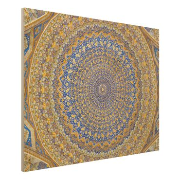 Quadro in legno - Dome of the Mosque - Orizzontale 4:3