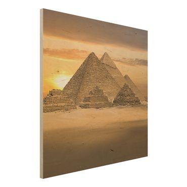 Quadro in legno - Dream of Egypt - Quadrato 1:1