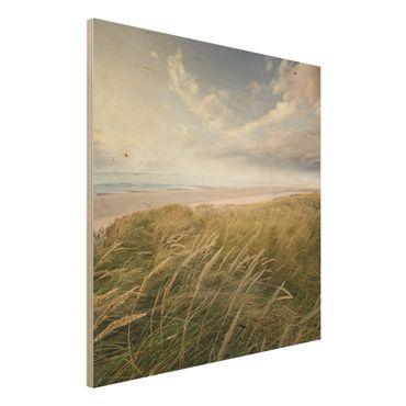 Quadro in legno - Dunes Dream - Quadrato 1:1
