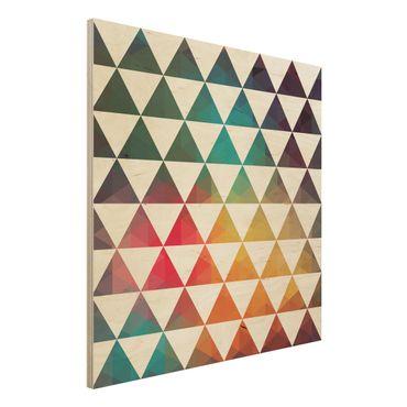 Quadro in legno - Colour Geometry - Quadrato 1:1