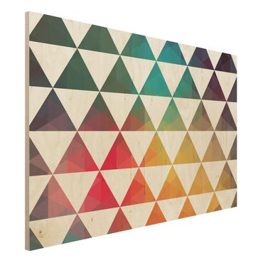 Quadro in legno - Colour Geometry - Orizzontale 3:2