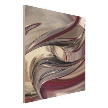 Quadro in legno - Illusionary - Quadrato 1:1