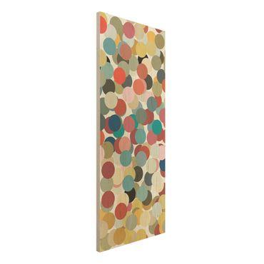 Quadro in legno - Confetti - Pannello