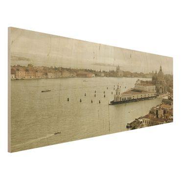 Quadro in legno - Venetian Lagoon - Panoramico