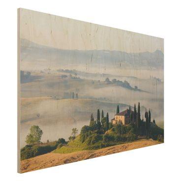 Quadro in legno - Country House in Tuscany - Orizzontale 3:2