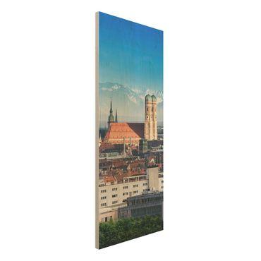 Quadro in legno - Munich - Pannello