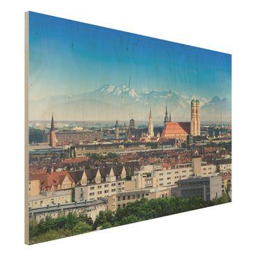 Quadro in legno - Munich - Orizzontale 3:2