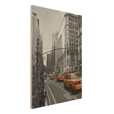 Quadro in legno - New York, New York! - Verticale 3:4