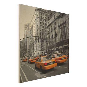 Quadro in legno - New York, New York! - Quadrato 1:1