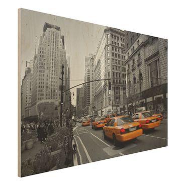 Quadro in legno - New York, New York! - Orizzontale 3:2