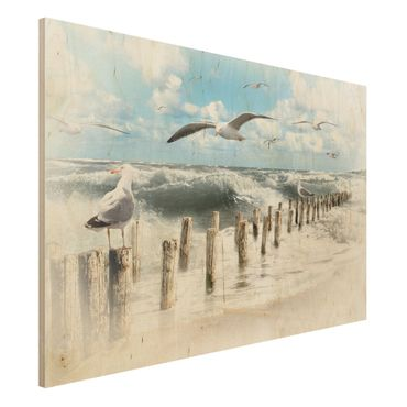 Quadro in legno - No.YK3 Absolute Sylt - Orizzontale 3:2