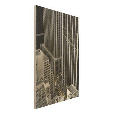Quadro in legno - NYC 5pm - Verticale 2:3