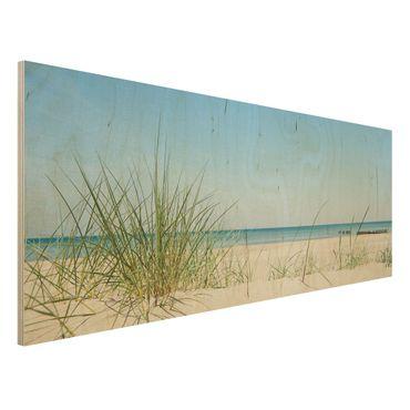 Quadro in legno - Baltic Coast - Panoramico