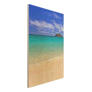 Quadro in legno - Paradise Beach - Verticale 2:3
