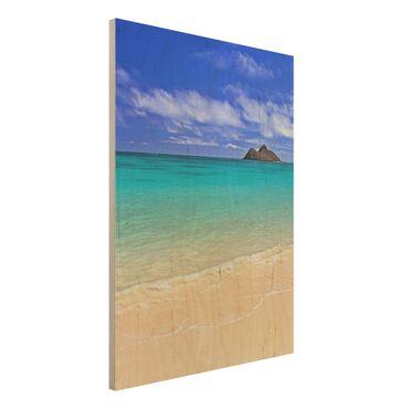 Quadro in legno - Paradise Beach - Verticale 3:4