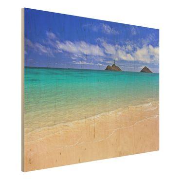 Quadro in legno - Paradise Beach - Orizzontale 4:3