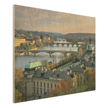 Quadro in legno - Prague - Orizzontale 4:3