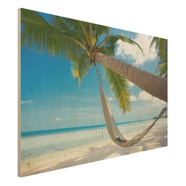 Quadro in legno - Relaxing Day - Orizzontale 3:2