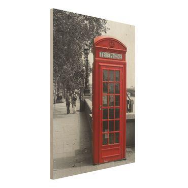 Quadro in legno - Telephone - Verticale 3:4