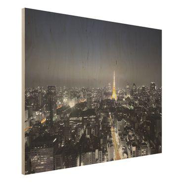 Quadro in legno - Tokyo - Orizzontale 4:3