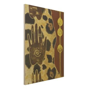 Quadro in legno - Touch of Africa - Verticale 3:4