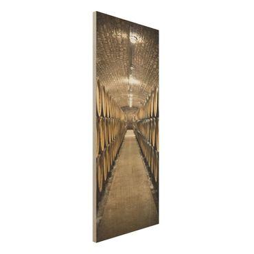 Quadro in legno - Wine cellar - Pannello