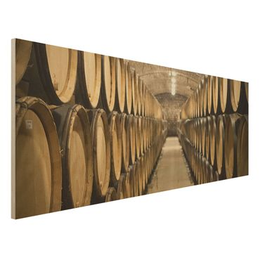 Quadro in legno - Wine cellar - Panoramico