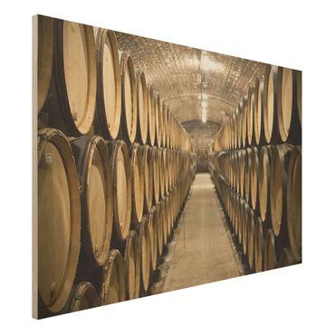 Quadro in legno - Wine cellar - Orizzontale 3:2