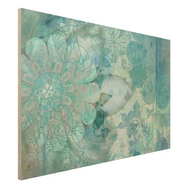 Quadro in legno - Winter flowers - Orizzontale 3:2