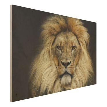 Quadro in legno - Wisdom of Lion - Orizzontale 3:2
