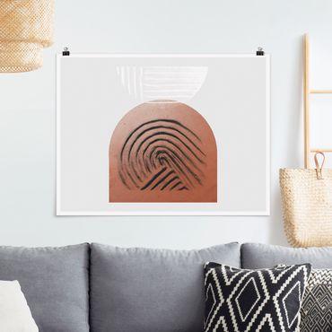 Poster - Geometria di argilla indigena