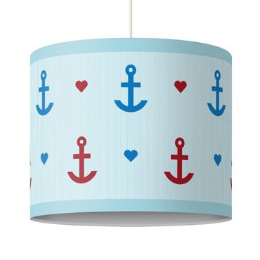 Lampadario design Anchor and Heart