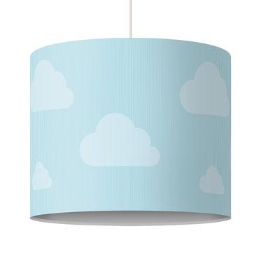 Lampadario design blue clouds