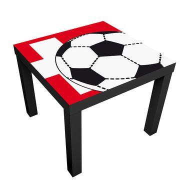 Tavolino design no.UL1097 Football Switzerland