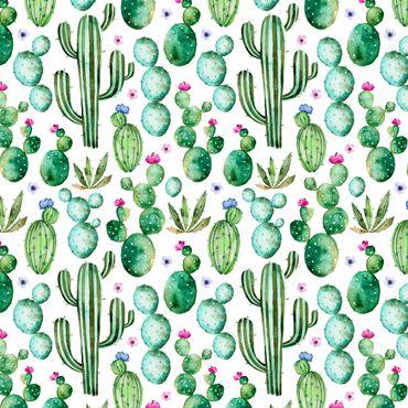 Pellicola adesiva - Watercolor Cactus