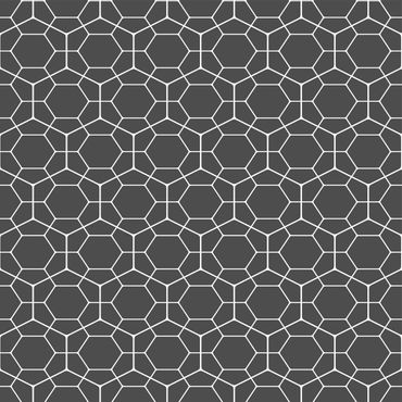 Pellicola adesiva - Anthracite Geometric diamond honeycomb pattern