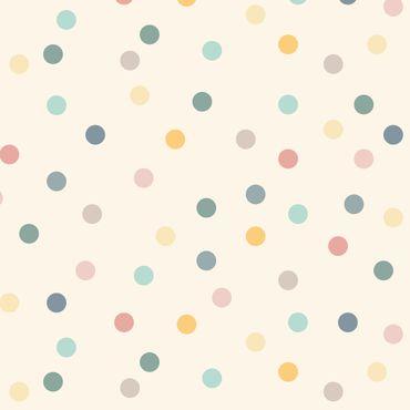 Pellicola adesiva - Confetti dots pattern