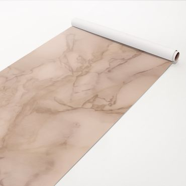 Pellicola adesiva - Marble look gray brown