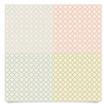 Pellicola adesiva - Bright moroccan mosaic in 4 colours