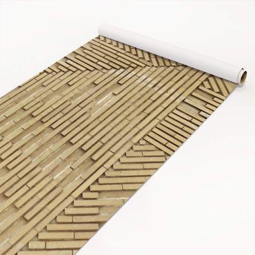 Pellicola adesiva - Design clinker nature