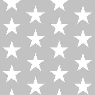 Pellicola adesiva - White Stars on Grey