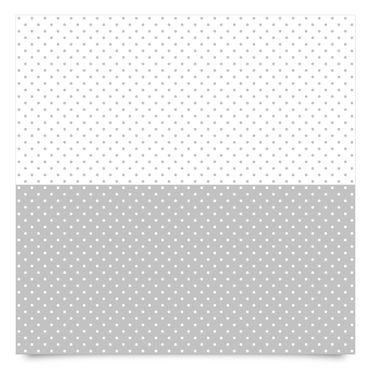 Pellicola adesiva - dot pattern set in grey and white